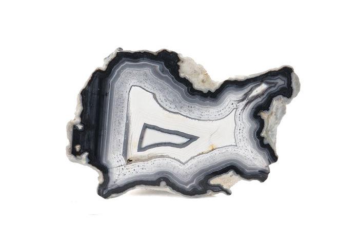 pierre agate noire