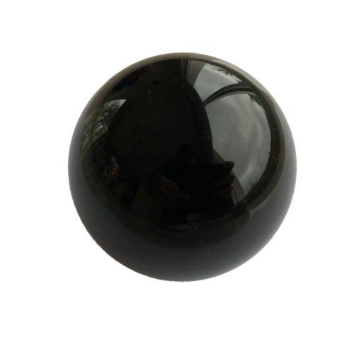 sphere obsidienne noire