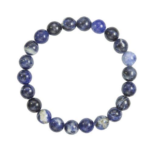 bracelet sodalite pierres boules 8mm