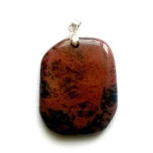 pendentif-obsidienne-acajou-pierre-plate