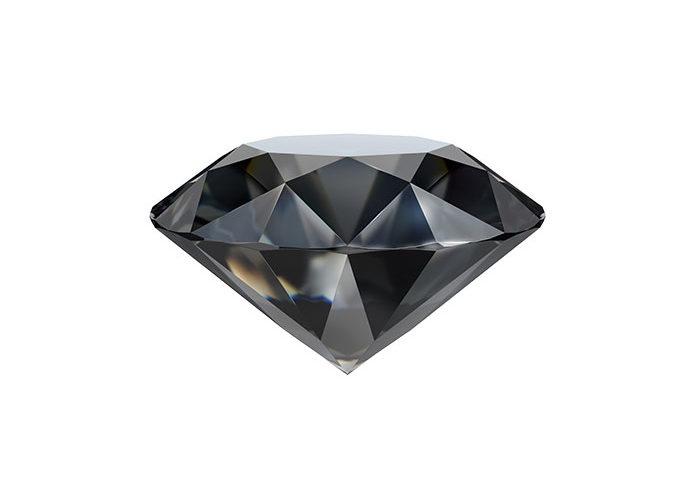 pierre diamant noir
