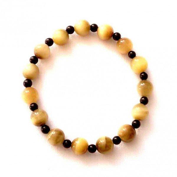 composition-bracelet-oeil-de-tigre-dore-8mm-agate-noire-4mm-2
