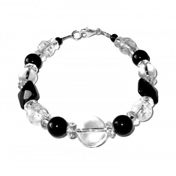 Bracelet-Cristal-de-Roche-brisé-et-Agate-facettée-1
