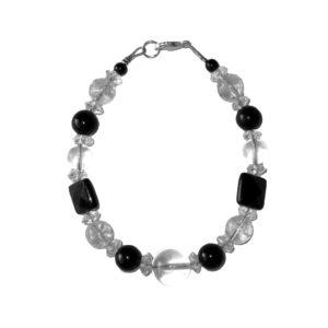 Bracelet-Cristal-de-Roche-brisé-et-Agate-facettée-2