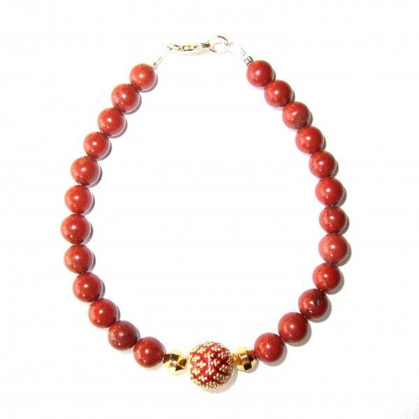 Bracelet-Jaspe-rouge-et-Perle-royale-rouge-2