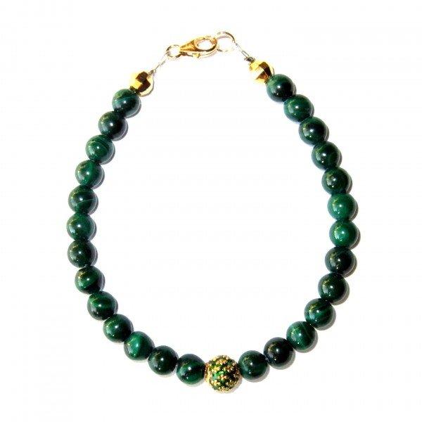 Bracelet-Malachite-et-Perle-royale-verte-2