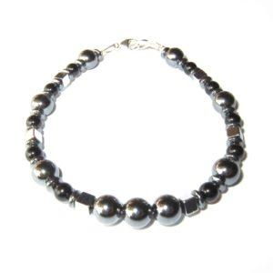 Bracelet-en-Hematite-et-Agate-noire-1