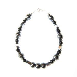 Bracelet-en-Hematite-et-Agate-noire-2
