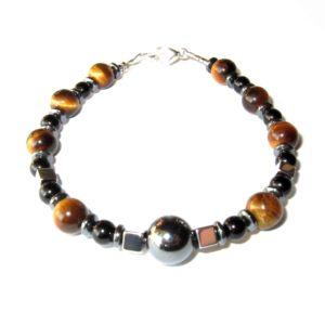 Bracelet-en-Oeil-de-Tigre-Hematite-et-Agate-Noire-1