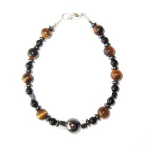Bracelet-en-Oeil-de-Tigre-Hematite-et-Agate-Noire-2