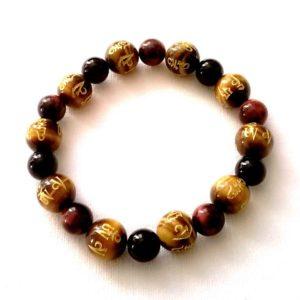 bracelet-agate-noire-oeil-de-taureau-et-tigre-tibetain-1