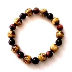 bracelet-agate-noire-oeil-de-taureau-et-tigre-tibetain-2