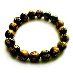 bracelet-oeil-de-tigre-avec-gravures-tibetaines-pierres-boules-10mm-1
