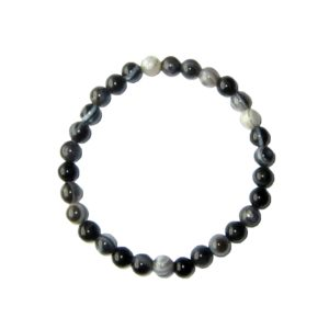 bracelet-agate-zonee-noire-pierres-boules-6mm-2