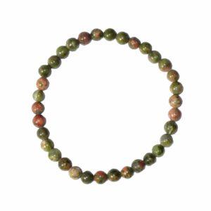 bracelet-unakite-pierres-boules-6mm-2