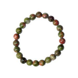 bracelet-unakite-pierres-boules-8mm-2