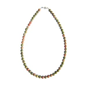 collier-unakite-pierres-boules-6mm-2