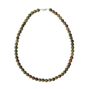 collier-unakite-pierres-boules-8mm-2