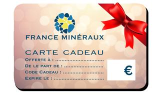 Carte Cadeau France Minéraux