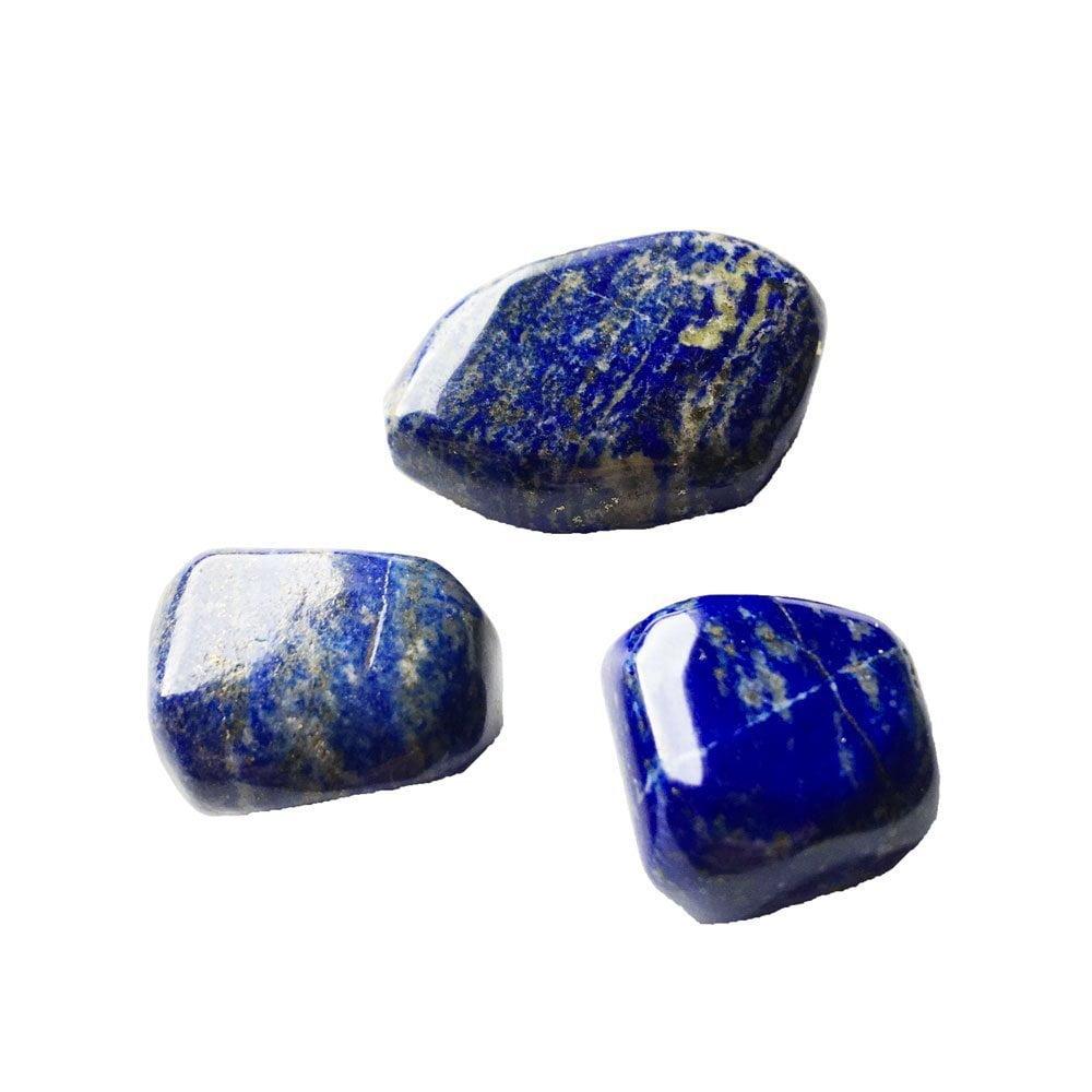 pierre roulée lapis lazuli lithothérapie france minéraux