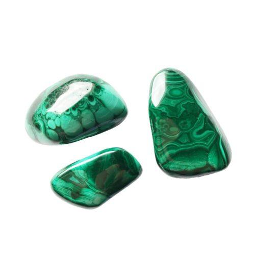 pierres roulées malachite