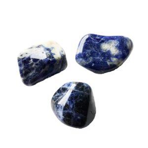 pierre roulée sodalite