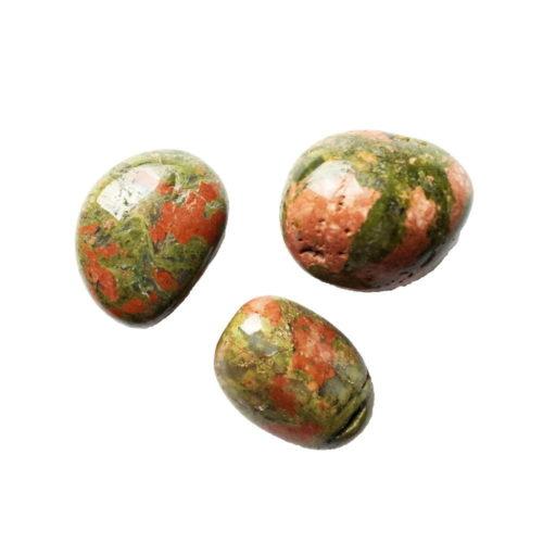 pierres roulées unakite