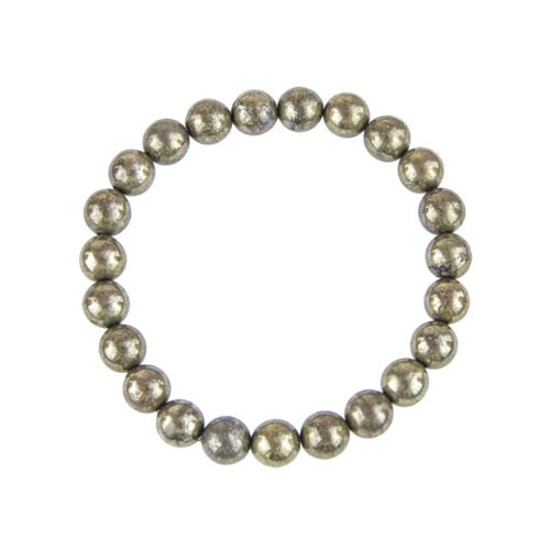 bracelet pyrite de fer