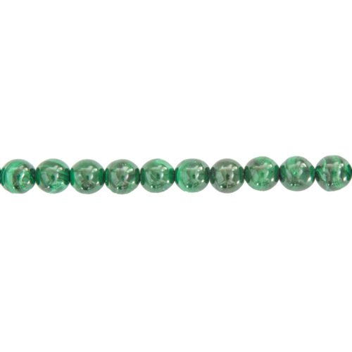 fil malachite pierres boules 8mm