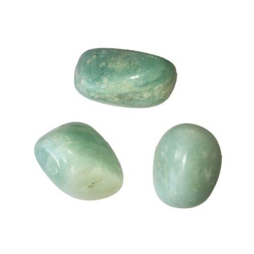 pierre roulée amazonite