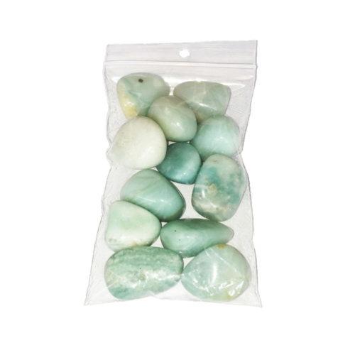 sachet pierres roulées amazonite 250grs