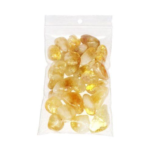 sachet pierres roulées citrine 250grs