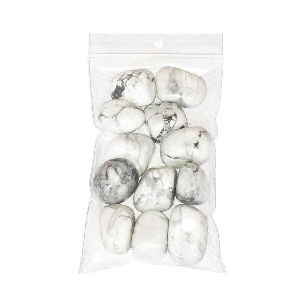 sachet pierres roulées howlite 250grs