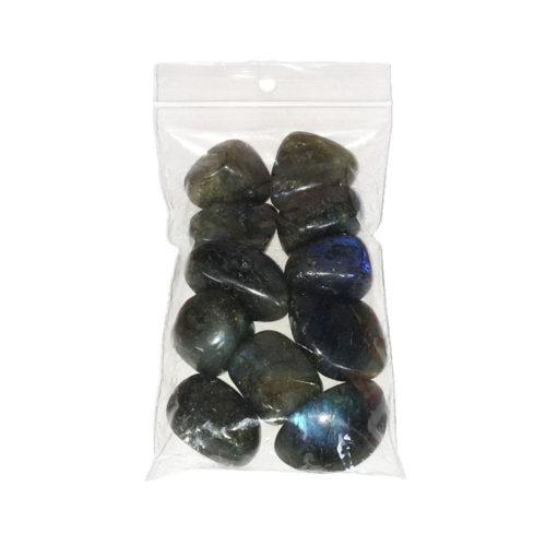 sachet pierres roulées labradorite 250grs