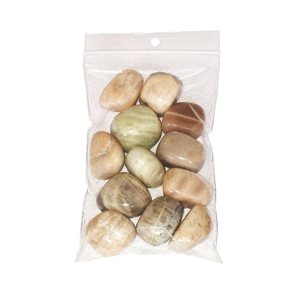 sachet pierres roulées pierre de lune 250grs