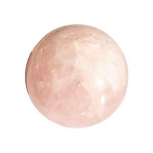 sphere quartz rose