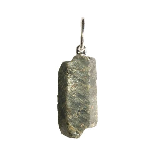 pendentif saphir pierre brute