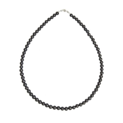 collier shungite pierres boules 6mm