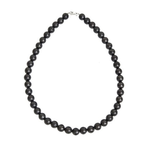 collier shungite pierres boules 10mm