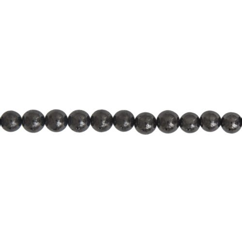 fil shungite pierres boules 6mm