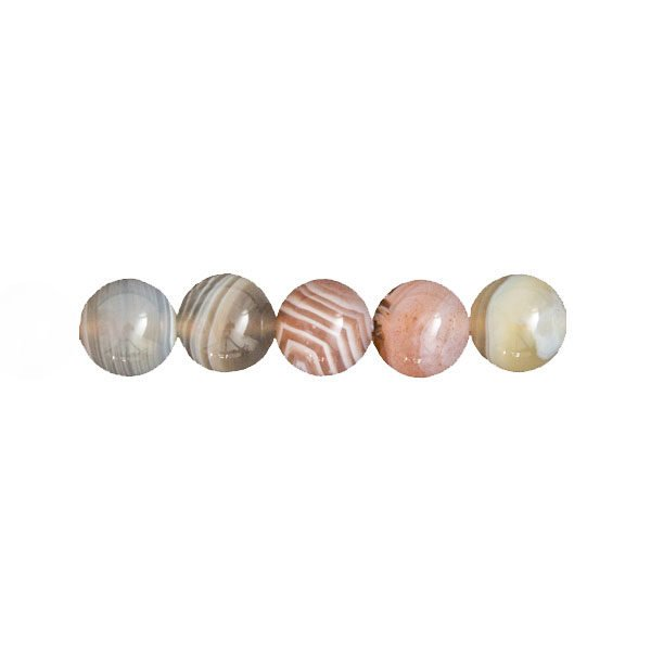perles agate du botswana