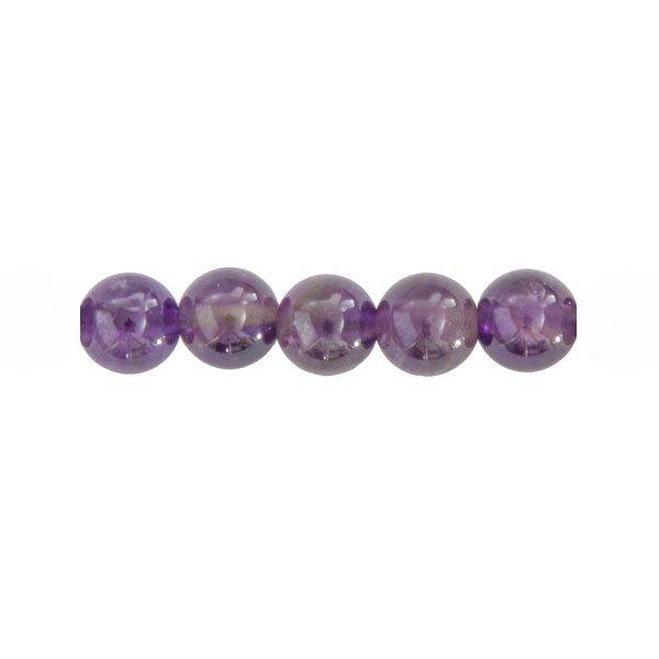 gamme de couleurs exceptionnelle nouveau authentique toujours populaire Perle ronde Améthyste - 6mm ou 8mm