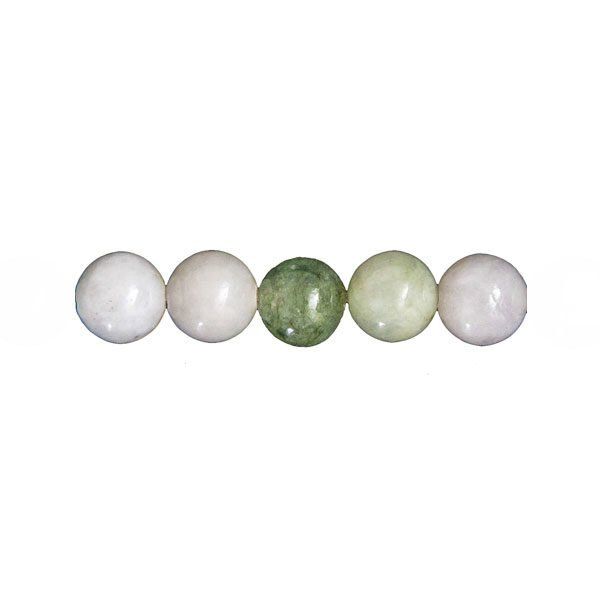 perles jade vert