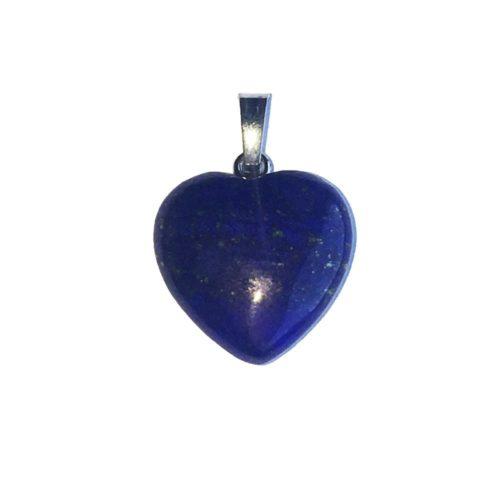 pendentif lapis-lazuli petit coeur
