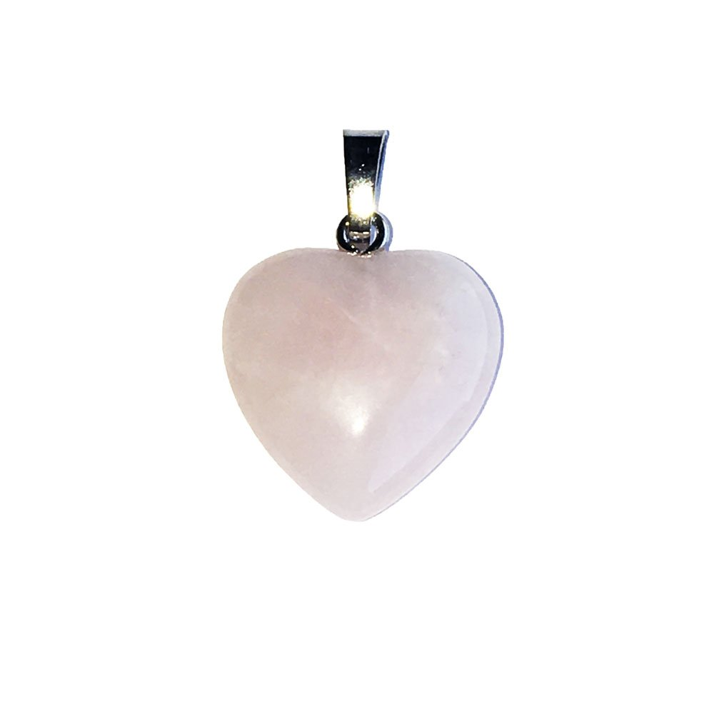 Génial olivine vert rouge rubis cœur argent sterling 925 Pendentif