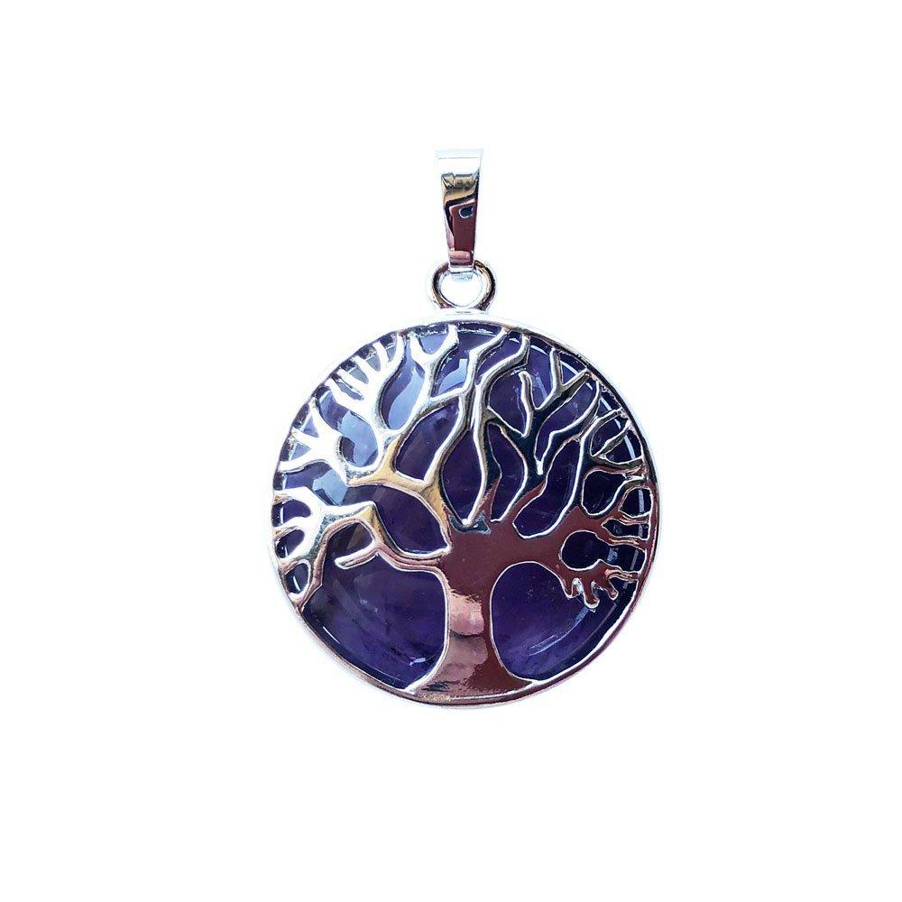 pendentif amethyste arbre de vie