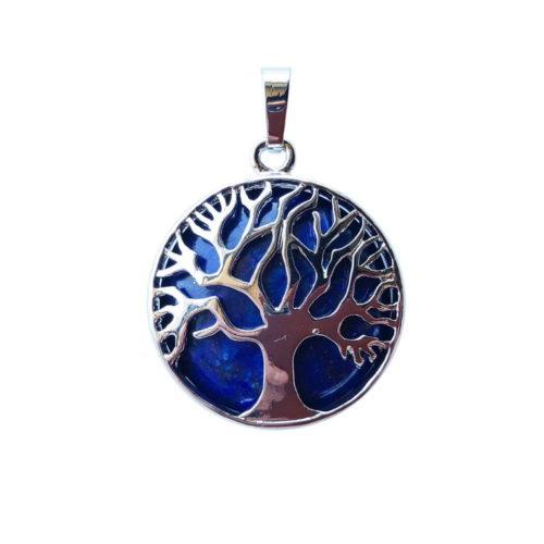 pendentif lapis lazuli arbre de vie