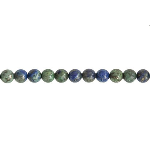 fil chrysocolle pierres boules 6mm