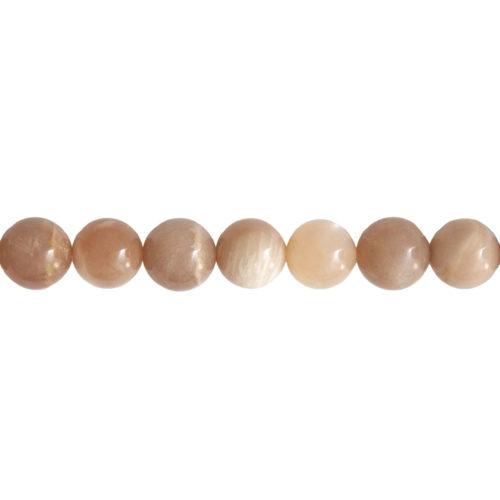 fil pierre de soleil pierres boules 14mm