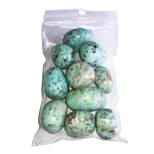 sachet pierres roulées chrysocolle 250grs